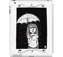 Raining in my parade  iPad Case/Skin