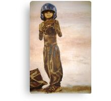 Baseball Boy II Canvas Print