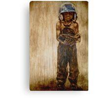 Baseball Boy I Canvas Print