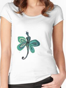Green Fairy Women's Fitted Scoop T-Shirt