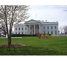 The White House Photographic Print
