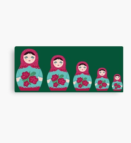 Matrioska doll Canvas Print