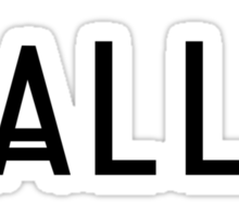 We are all freaks Sticker