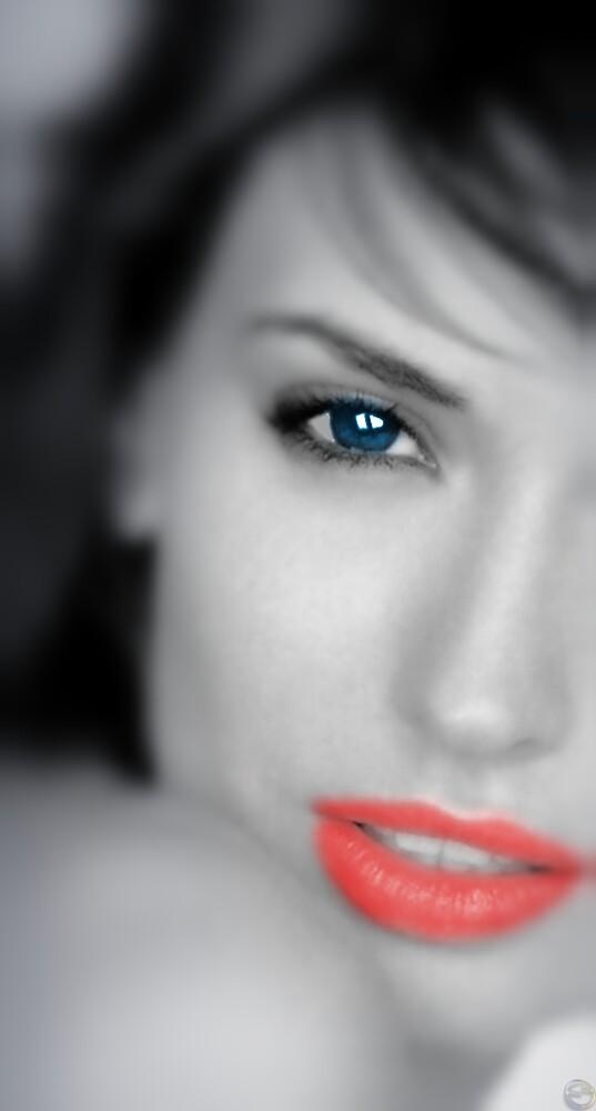 Electric Blue Eye by Edward Shepherd
