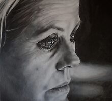 Self-Portrait: Watching the Slow Dissolve by alstrangeways