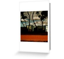 thursday afternoon Greeting Card