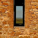 Stone Work, Cottage Ruin,Outback Australia by Joe Mortelliti