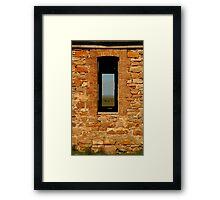 Stone Work, Cottage Ruin,Outback Australia Framed Print