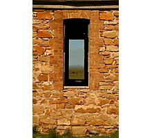 Stone Work, Cottage Ruin,Outback Australia Photographic Print