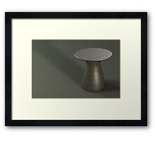 aka in carbon fibre Framed Print