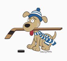 Hockey Dog One Piece - Short Sleeve