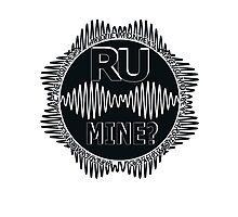 R U Mine? Blk/Blk/Blk Photographic Print
