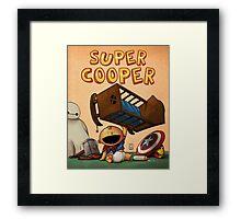 Special Project -- Super Cooper Framed Print