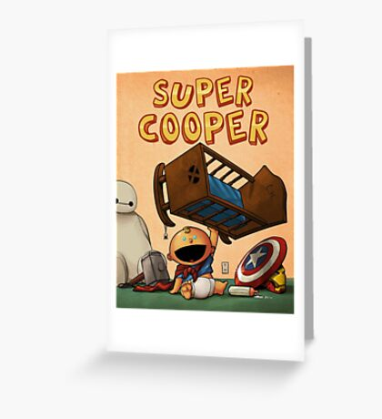 Special Project -- Super Cooper Greeting Card