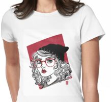 RED Womens Fitted T-Shirt