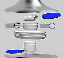EscapePod - Exploded by Graeme Hindmarsh Design