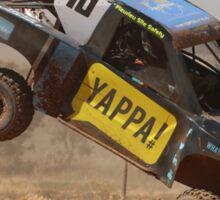 Tipping Trophy Kart Sticker