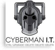 Cyberman I.T. Canvas Print