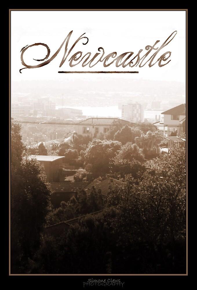 Newcastle Suburbs by Simone C