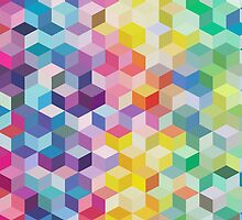 Colourful Cubes by tracingtrace