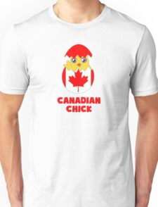 Canadian Chick, a Girl From Canada Unisex T-Shirt