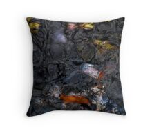 Black Waters 6 Throw Pillow