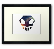 Galaxy Bleach Hollow Symbol Framed Print