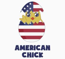 American Chick, a Girl From America by TheShirtYurt