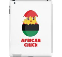 African Chick, a Girl From Africa iPad Case/Skin