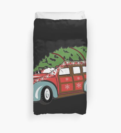 getting the tree Duvet Cover