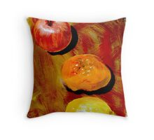 fruit no. 4 Throw Pillow