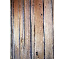 golden wood Photographic Print