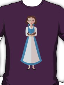 Symmetrical Princesses: Belle T-Shirt