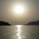 Hazy Sunset Croatia by Mark Davey