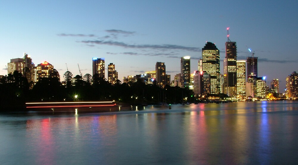 Brisbane City by Samuel Holt