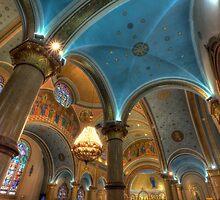 St. Nicholas Ukranian Church by Adam Bykowski