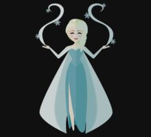 Symmetrical Princesses: Elsa Kids Clothes