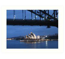 Sydney Harbour 2 Art Print