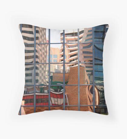 Gotham City Definitely Throw Pillow