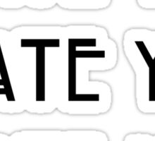 Dandy <3 Sticker