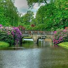 Garden Bridge Schloss Burgsteinfurt by Christiaan