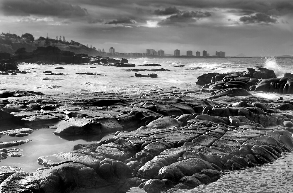 Maroochydore Rocks by Rob Hadfield