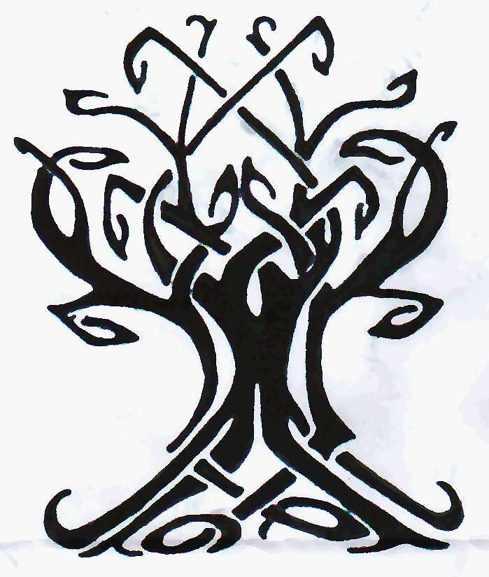 Celtic Tree by hancakes