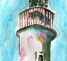 lighthouse by hancakes