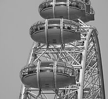 London Eye by Rob Hadfield