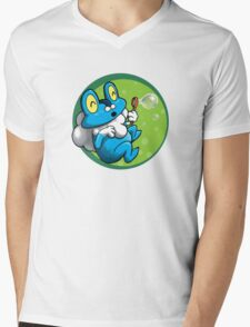 Bubbles for Froakie Mens V-Neck T-Shirt