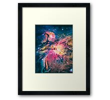 The awesome beauty of the Orion Nebula  Framed Print
