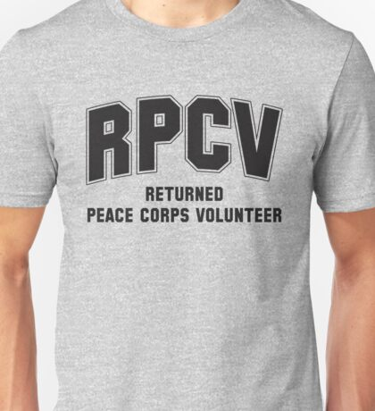 Peace Corps Volunteers Unisex T-Shirt