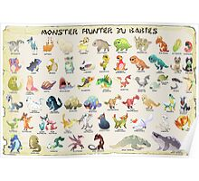 Monster Hunter 3U Babies Poster