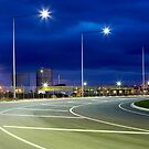 3 street lights by John Jovic